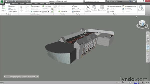 Using the ViewCube: Navisworks Essential Training