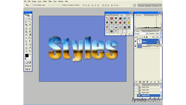 How (and When) to Scale Layer Styles: Photoshop CS2 Essential Training