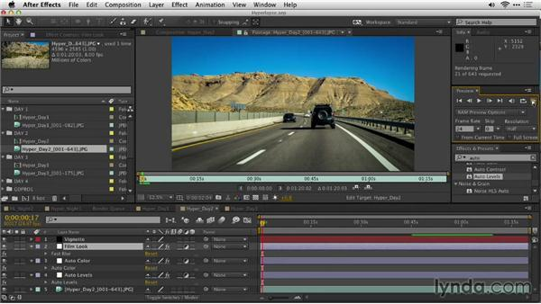 Exercise files: Shooting a Hyperlapse Time-Lapse Video