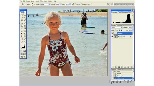 Removing Unwanted Objects: Photoshop CS2 Essential Training