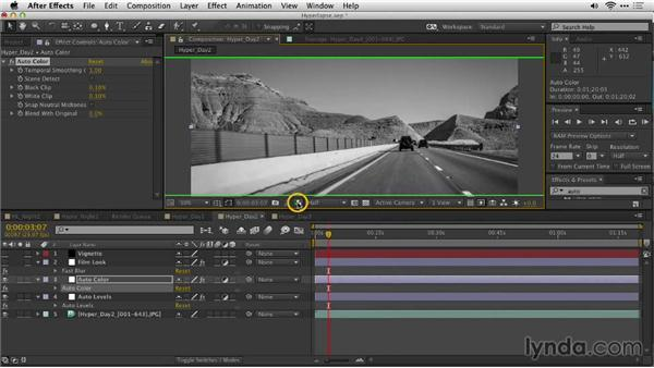 Color grading daytime footage: Shooting a Hyperlapse Time-Lapse Video