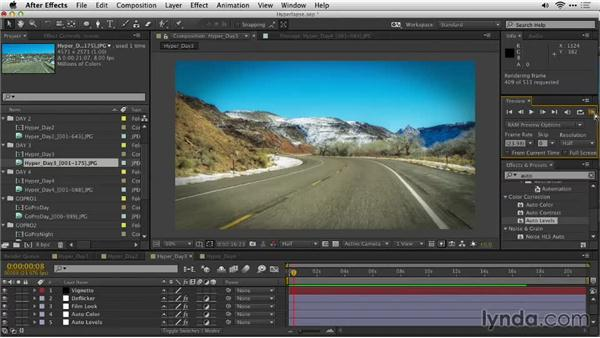 Evaluating the shots: Shooting a Hyperlapse Time-Lapse Video