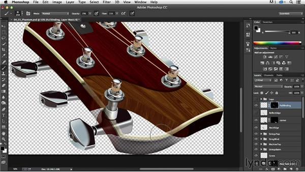 Final details: Phantom cuts: Technical Illustration: Creating a Cutaway