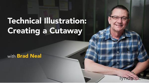Next steps: Technical Illustration: Creating a Cutaway