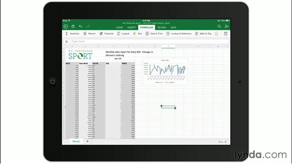 Introducing Microsoft Excel for iPad: Office for iPad First Look