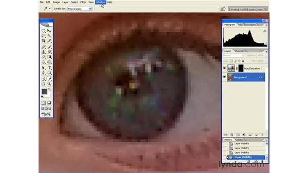 Enhancing Eyes: Photoshop CS2 Essential Training