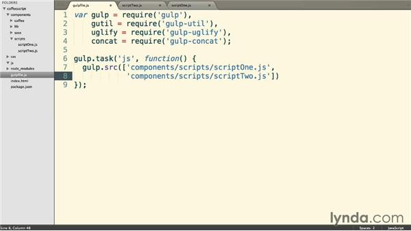 Creating simple JavaScript automation: Up and Running with CoffeeScript