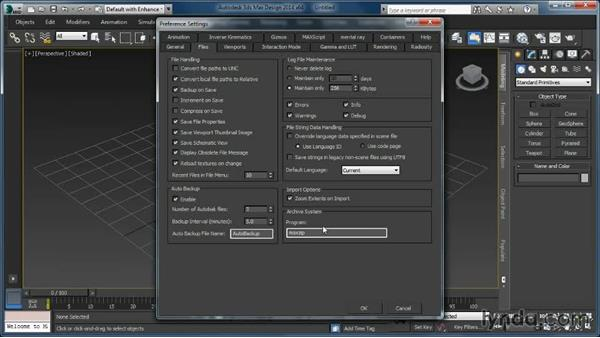 3ds Max project structure: Cloth Simulation in 3ds Max