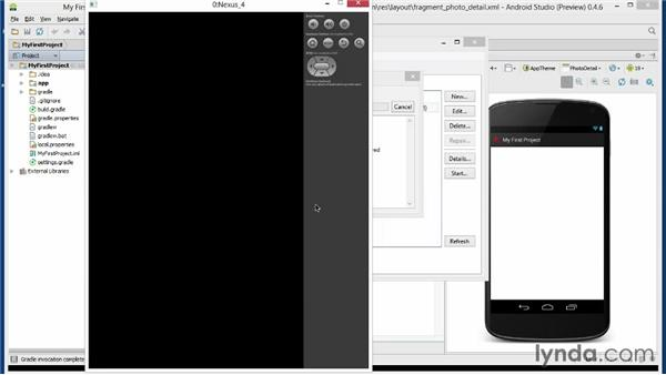 Creating a virtual device for testing: Android Studio First Look