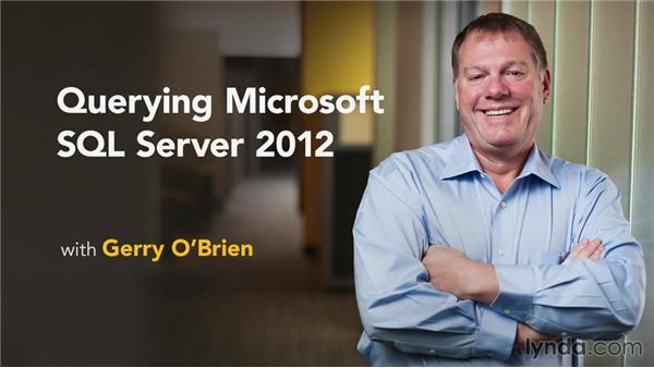 Goodbye: Querying Microsoft SQL Server 2012