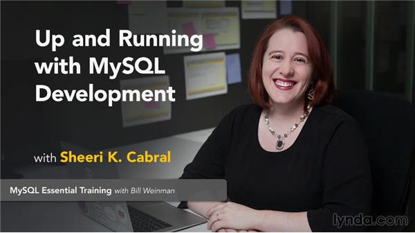 Next steps: Up and Running with MySQL Development