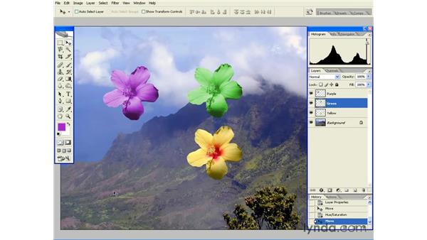 Working with Layers: Photoshop CS2 Essential Training