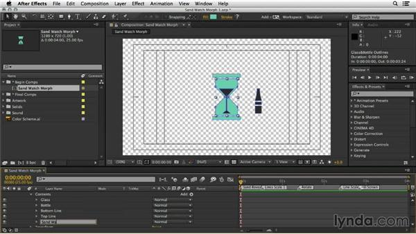Convert artwork to shapes: Mograph Techniques: Shape Animation in After Effects