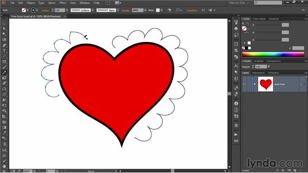 Extending and connecting paths: Draw Better and Faster with Illustrator CC