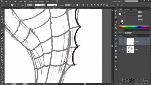 Combining the Pencil with a drawing tablet: Draw Better and Faster with Illustrator CC