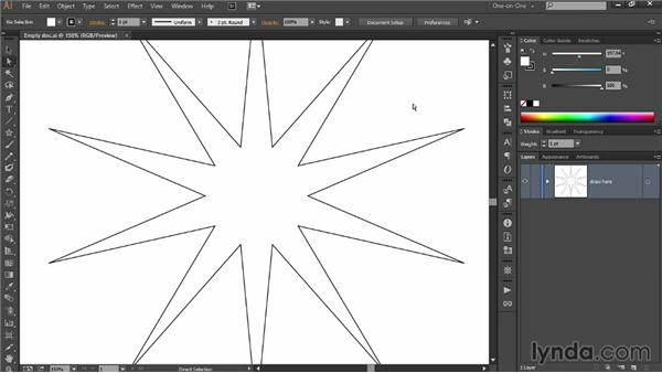 Selectively and dynamically rounding corners: Draw Better and Faster with Illustrator CC