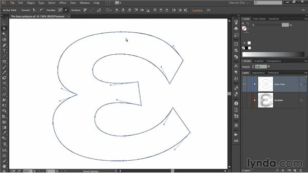 Adding curves and smooth points: Draw Better and Faster with Illustrator CC