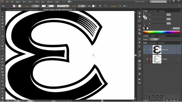 Drawing multiple lines at a time: Draw Better and Faster with Illustrator CC