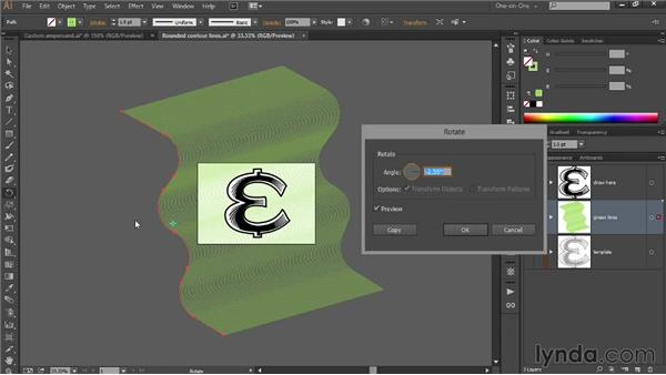 Creating an intricate engraving effect: Draw Better and Faster with Illustrator CC