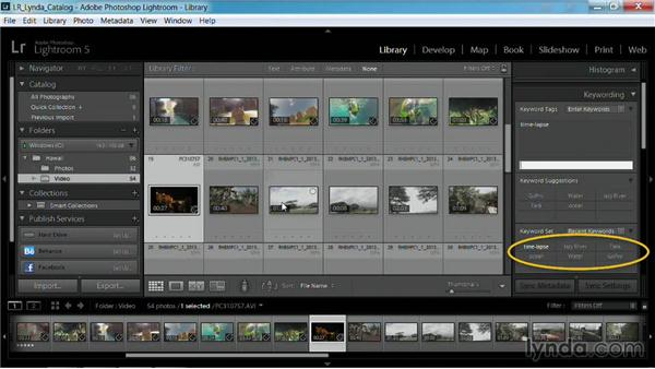 Adding metadata to video: Working with Video in Lightroom