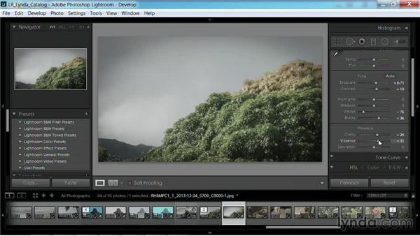 Developing a proxy frame: Working with Video in Lightroom