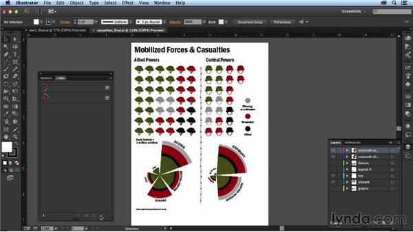 Setting up a streamlined workflow: Designing an Infographic