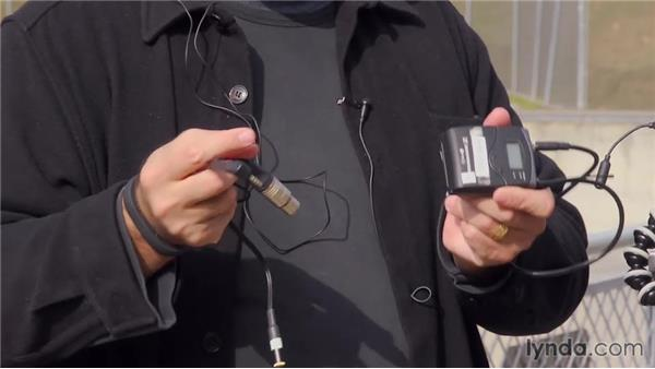 Attaching a mic: Shooting with the GoPro HERO: Action Sports