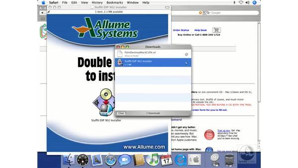 Palm Desktop and StuffIt Expander: Mac OS X 10.4 Tiger Beyond the Basics