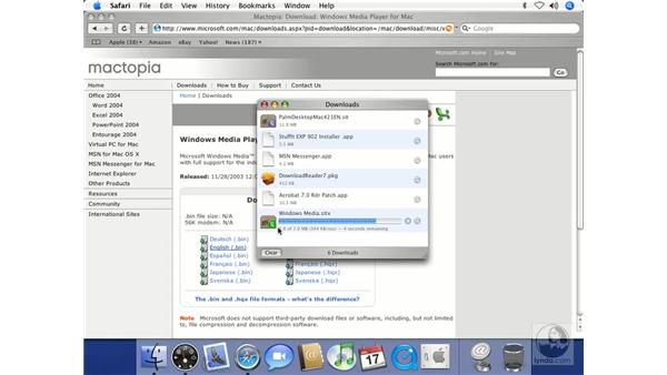 Windows Media Player: Mac OS X 10.4 Tiger Beyond the Basics