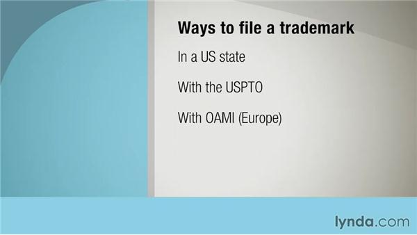 Filing a trademark: Intellectual Property Fundamentals