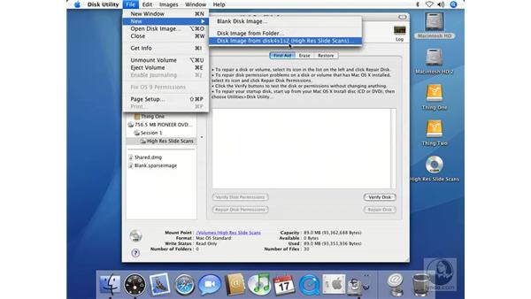 Creating Backup Images of Your CDs or DVDs: Mac OS X 10.4 Tiger Beyond the Basics