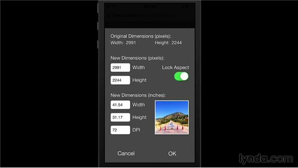 Resizing images on the iPhone: Shooting with the iPhone 5s