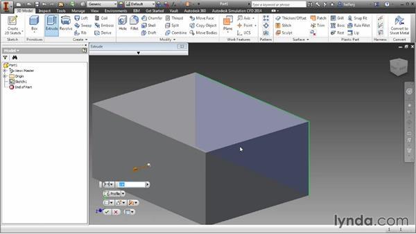 Construction geometry: Inventor 2014 Essential Training