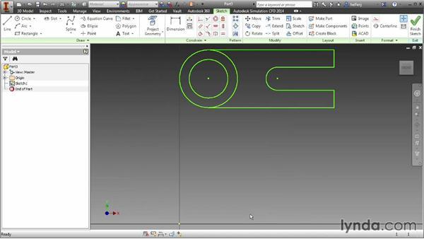 Importing AutoCAD data: Inventor 2014 Essential Training