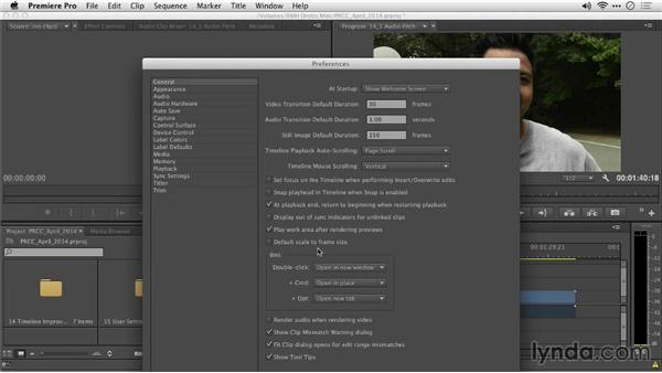 Maintaining audio pitch during scrubbing: Premiere Pro: Creative Cloud Updates