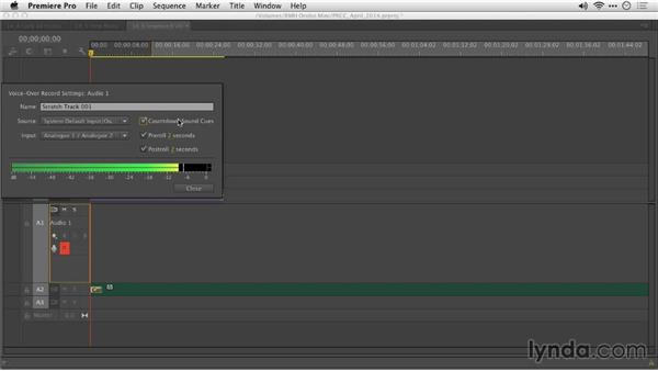 Improved voice-over recording: Premiere Pro: Creative Cloud Updates