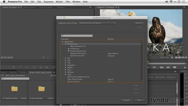Improved shortcut keys: Premiere Pro: Creative Cloud Updates