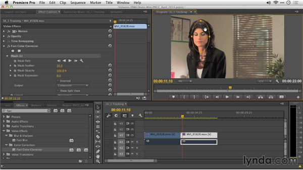 Masking and tracking: Premiere Pro: Creative Cloud Updates