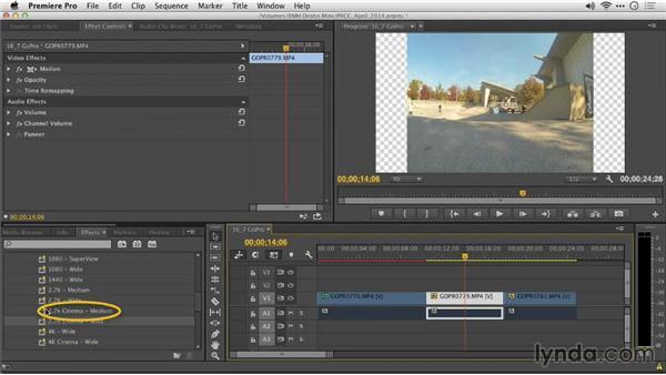 Removing GoPro lens distortion in Premiere Pro: Premiere Pro: Creative Cloud Updates