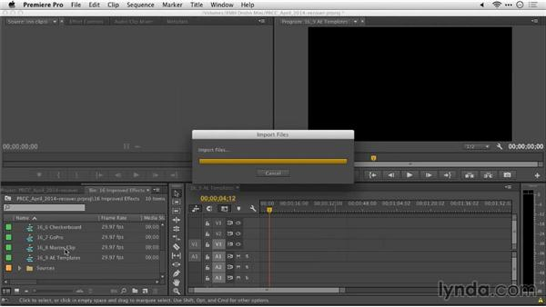 After Effects text templates: Premiere Pro: Creative Cloud Updates