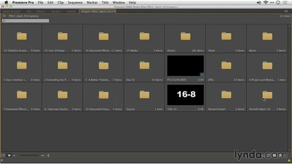 Preserving bin structure on folder import: Premiere Pro: Creative Cloud Updates