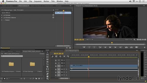 Manual sync offsets: Premiere Pro: Creative Cloud Updates