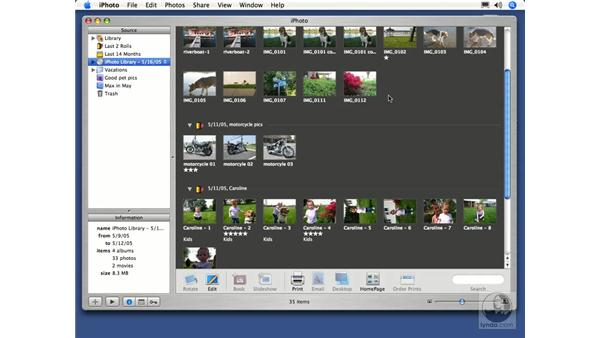 Burning a Backup CD or DVD: iPhoto 5 Essential Training