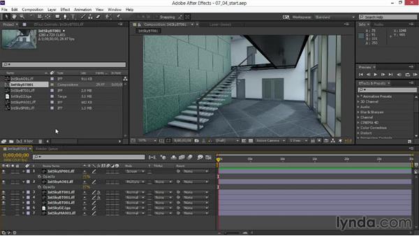 Using the exercise files: Rendering Interiors in Maya
