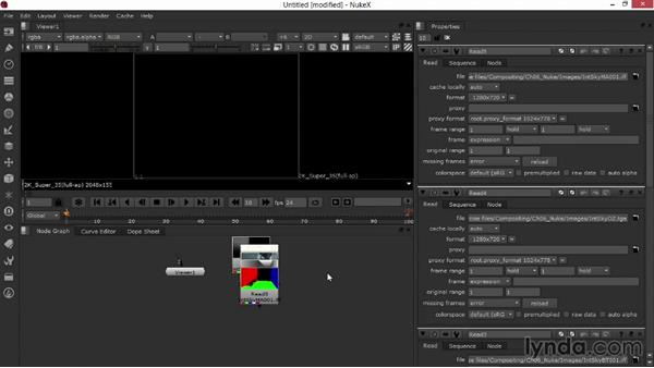 Importing the imagery and arranging the layers: Rendering Interiors in Maya