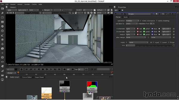 Setting blending modes and adjusting opacity: Rendering Interiors in Maya