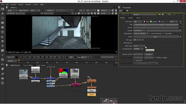 Rendering the composited images: Rendering Interiors in Maya