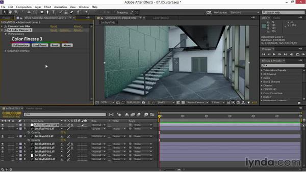 Putting on the final polish with glinting highlights and glow: Rendering Interiors in Maya