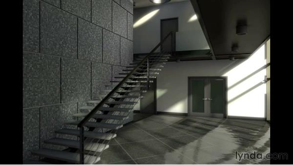 Viewing the final rendered animation: Rendering Interiors in Maya