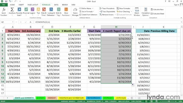 Welcome: Excel 2013: Working with Dates and Times